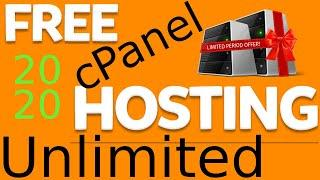 Free Unlimited Web Hosting with cPanel | Free cPanel Web Hosting | Unlimited Web Hosting Lifetime